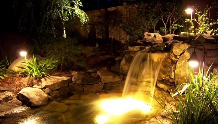 iluminacin jardin iLamparascom
