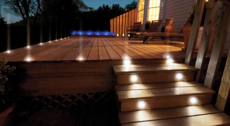 iluminacion de noche - Iluminacion Jardin