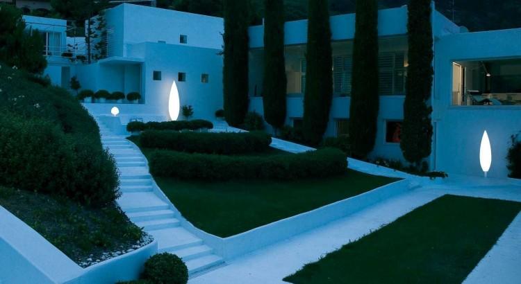 La Mejor Iluminacion Para Jardin Exterior Funcional 2 Ilamparascom - Iluminacion-para-jardin
