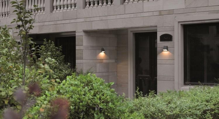 L mparas de pared para exterior for Apliques exterior modernos