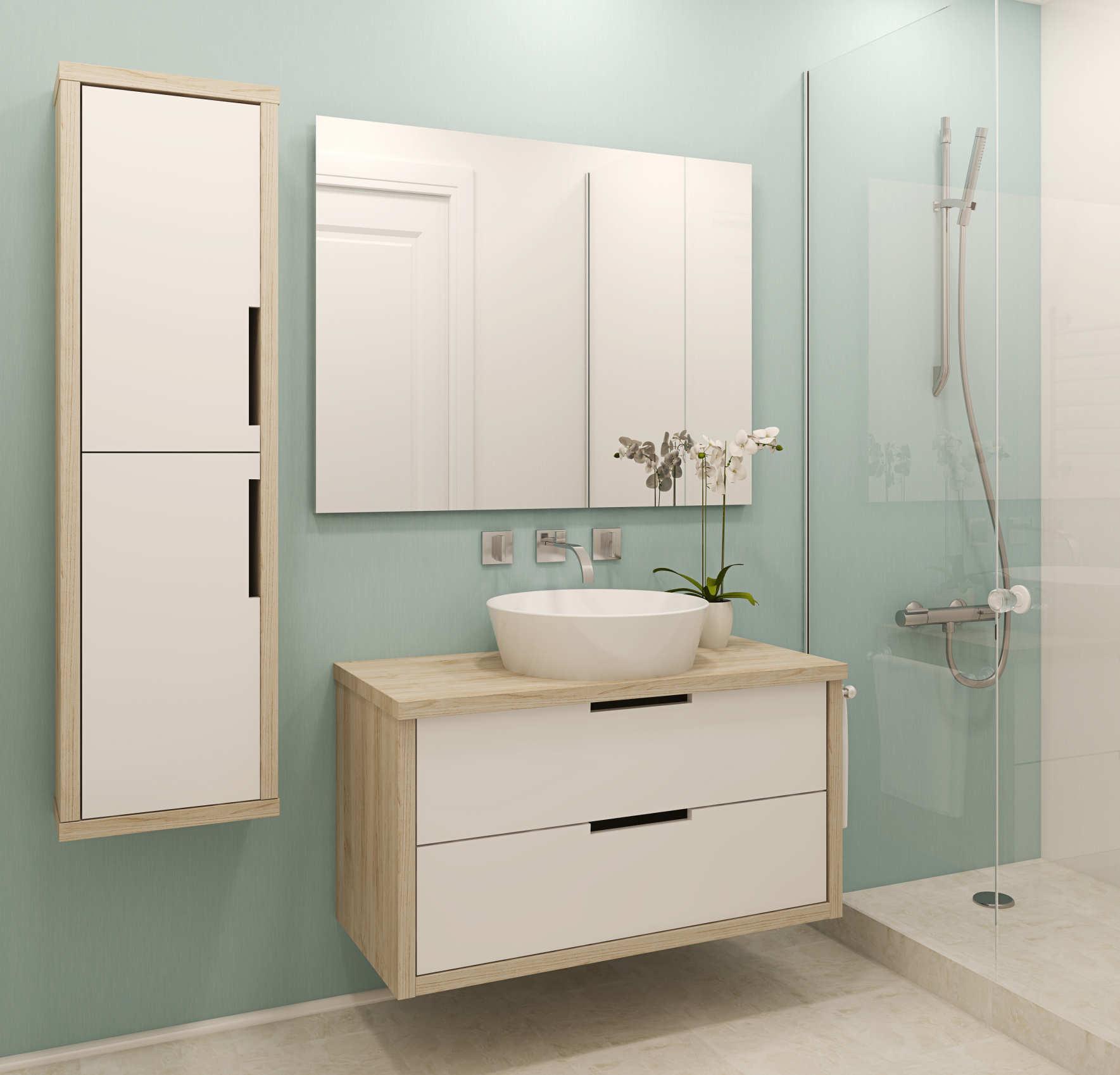 decorar lavabos antiguos : decorar lavabos antiguos:Muebles de baño minimalistas – iLamparas.com